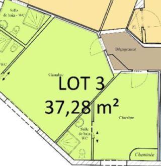 Appartement à rénover LIMOGES 37 m² ()