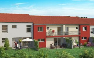Maison jumelée ENNERY 104 m² ()