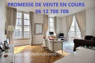Appartement bourgeois PARIS 8EME arr 52 m² ()