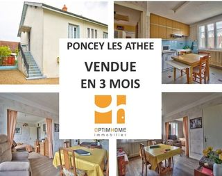 Maison PONCEY LES ATHEE 80 m² ()