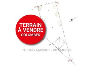 Terrain constructible COLOMBES  ()