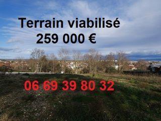 Terrain constructible PUSIGNAN  (69330)