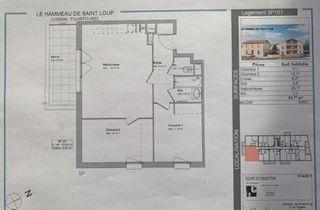 Appartement SAINT LOUP CAMMAS 60 (31140)