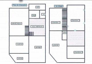 Maison à rénover ERVY LE CHATEL 87 (10130)